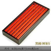 Black Tea Trays Ebony Solid Wood Tea Tray Red Table Teahouse Sea Storage Drawer