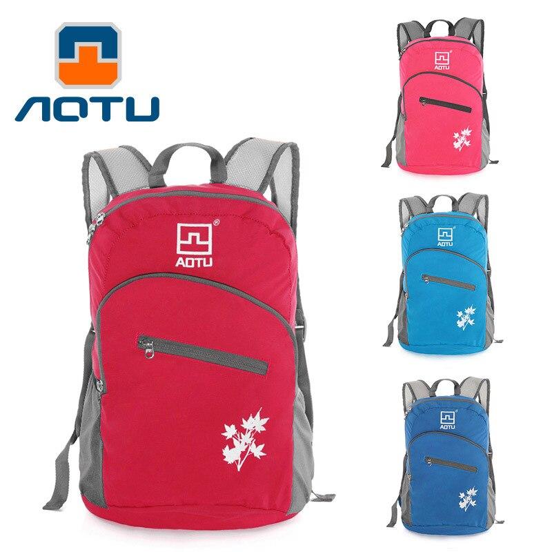 Outdoor Backpack Travel Folding Bag Camping Mountain Climbing Travel Bag Mountain Climbing Bag Cross Border AT6902 A Generation