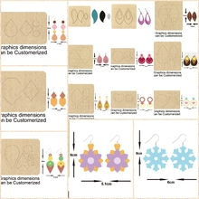 Water Drop Dangler Earrings DIY 2020 New Cutting Mold Wood Dies For Leather Blade Rule Cutter For DIY Leather Cloth Paper Crafts цена 2017