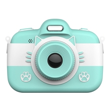 Kids Digital Camera Children Selfie Cartoon Video Recorder Camcorder 3 inch Pres