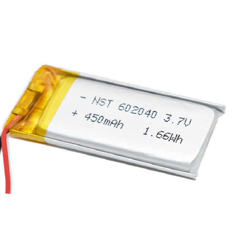 602040 Lithium Polymer Rechargeable Battery For MP3 MP4 Bluetooth Audio Headset Selfie Stick