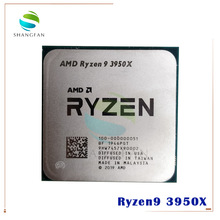 CPU Processor 3950X 32-Thread Amd Ryzen 16-Core AM4 Ghz 7NM R9 L3--64m 100-000000051-Socket