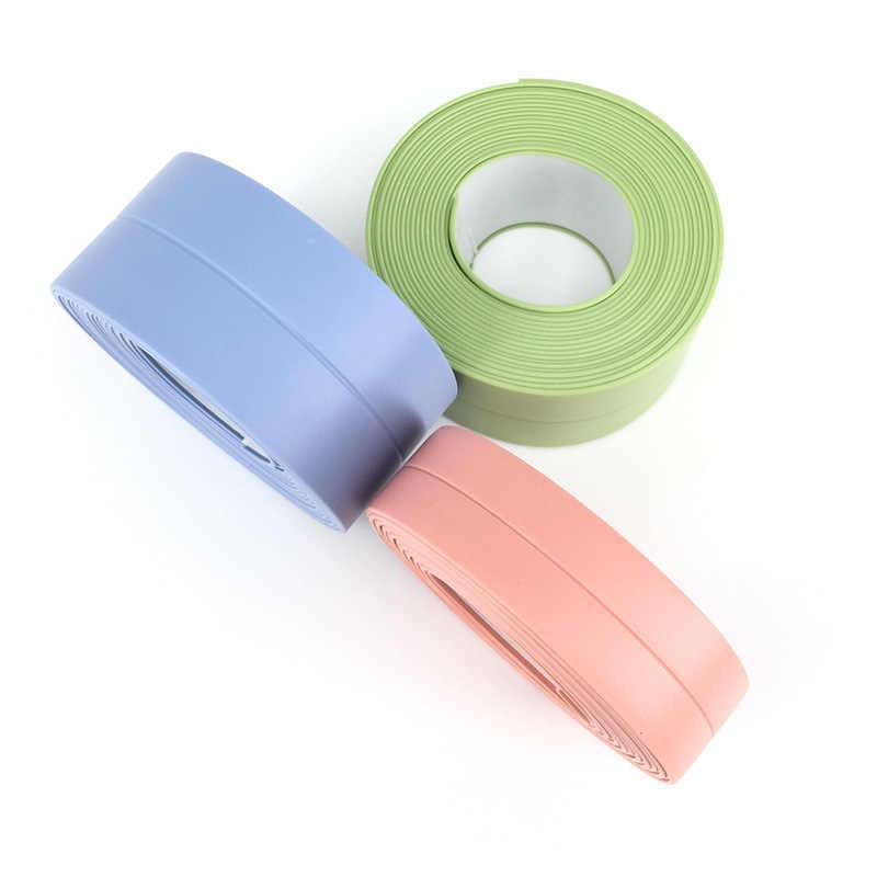 3.2M zlewozmywak kuchenny wodoodporna forma mocna taśma samoprzylepna anty-wilgoć naklejka ścienna z PVC łazienka linia narożna zlew naklejki