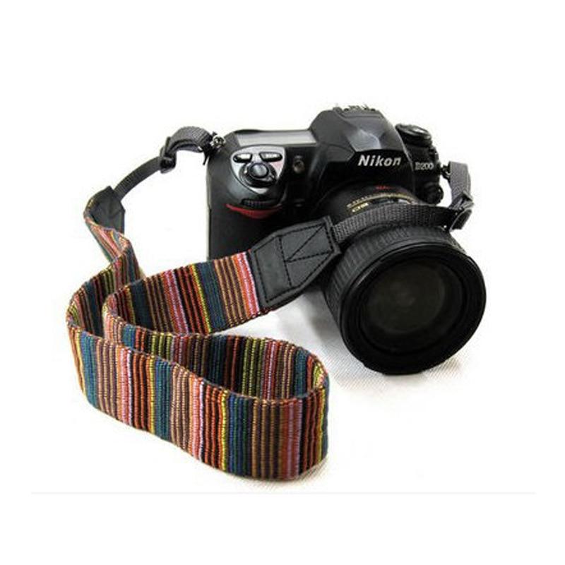 Soft Cloth Camera Straps Neck Band Single-lens Reflex Camera Belt Camera Straps Cool Camera Shoulder Suspender Strap