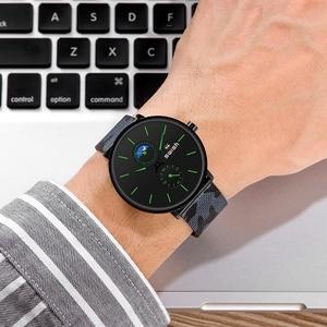 Image 5 - Montres de luxe pour hommes, montres bracelets en acier inoxydable, étanche, sport, militaire, chronographe à Quartz 2020