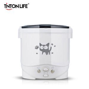 1L Electric Mini Rice Cooker Multifunctional Portable Cookers Used In House 220V Or Car 12V Truck 24V Used as Lunch Box