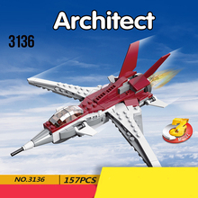 2019 New Creative Variety Series Futurist Aircraft compatible with 31086 Building Blocks Brick Toys Children Gifts new building blocks ninja emmet wyldstyle sheriff gordon zola bad cop robo swat brick toys for children l009 016