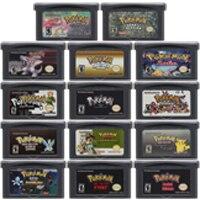 цена на Video Game Cartridge Console Card 32 Bits Pokeon E Collection English Language For Nintendo GBA
