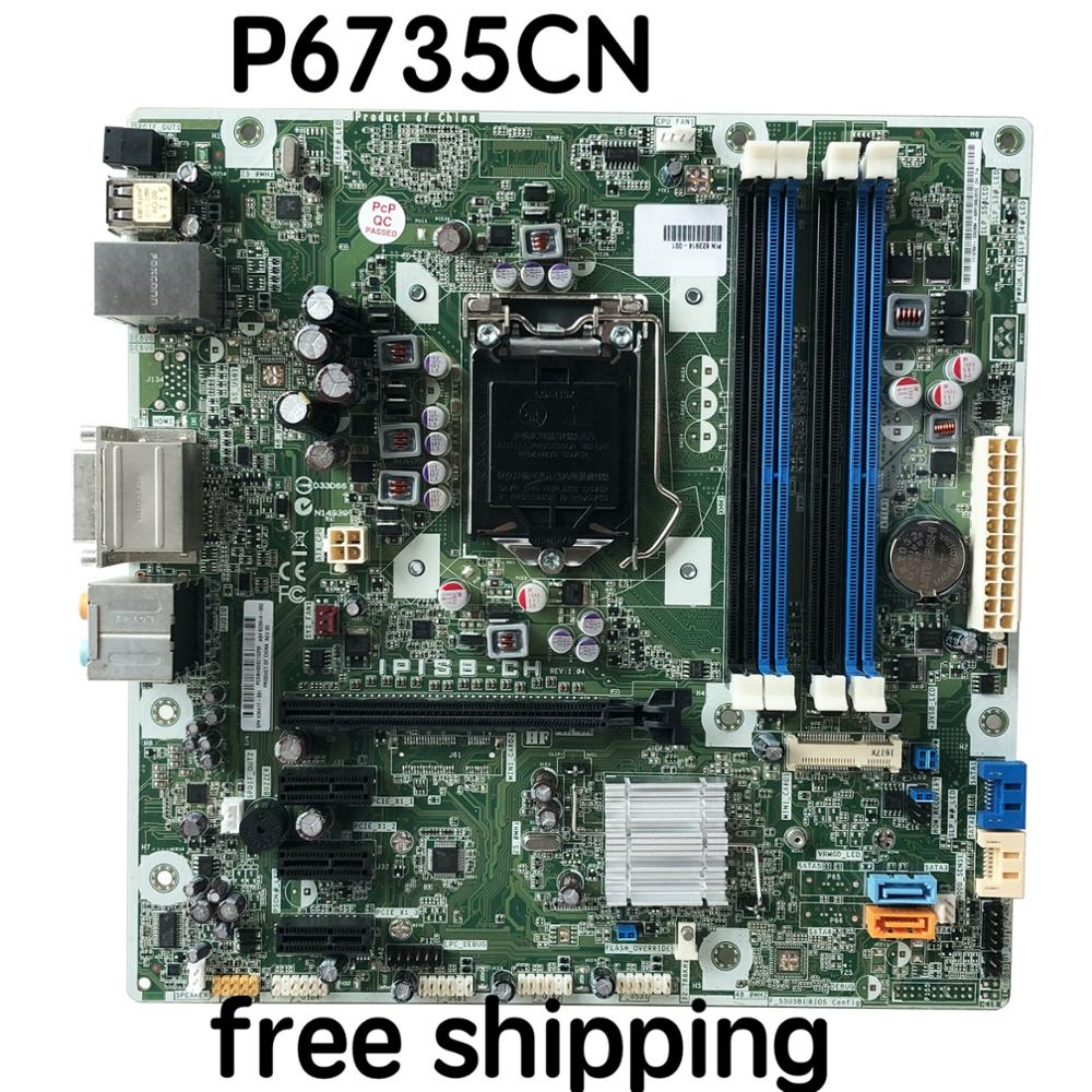 623914 001 For HP P6735CN Desktop Motherboard IPISB CH 636477 001 Mainboard 100%tested fully work|Motherboards|Computer & Office - title=