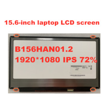15.6-cal LCD do laptopa ekran IPS matryca LCD B156HAN01.2 NV156FHM-N43 LP156WF6 SPB1 SPA1 30 pinów 1920X1080 Panel eDP