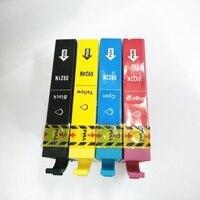 Vilaxh T0921 патрон чернил для принтера Epson T0921-T0924 стилус CX4300 TX117 T26 T27 TX106 TX119 TX109 C91 C51 принтер