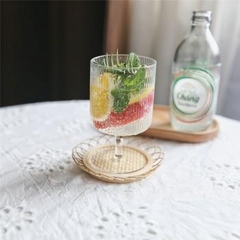 Ins gorący kubek do jogurtu kubek do lodów kubek na Pudding zimny kubek do naczyń wzór 300ml szklanka do wody szklanka do Whisky