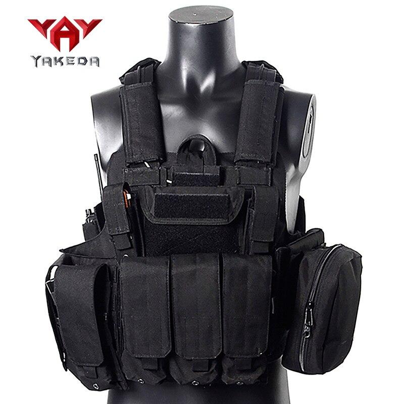 Yakeda Ghost Tactical Vest Camouflage Tactical Vest Black Hawk Tactical Vest Training Clothes Secret Service CS Equipment