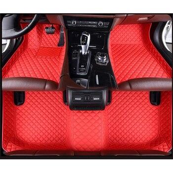 ZRCGL universal Car floor mat for Mitsubishi All Models pajero grandis outlander galant Lancer-ex ASX lancer pajero sport