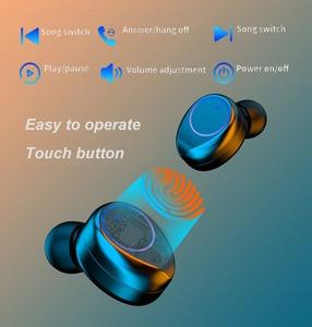 Image 5 - 003 auricolare Bluetooth Wireless TWS auricolari Stereo cuffie con cancellazione del rumore con microfono vivavoce per telefono cellulare