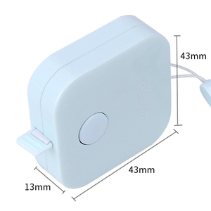 Image 5 - 사랑스러운 캔디 컬러 눈금자 귀여운 마카롱 테이프 측정 상자 휴대용 패션 디자인 학교 사무실 통치자 편지지 용품