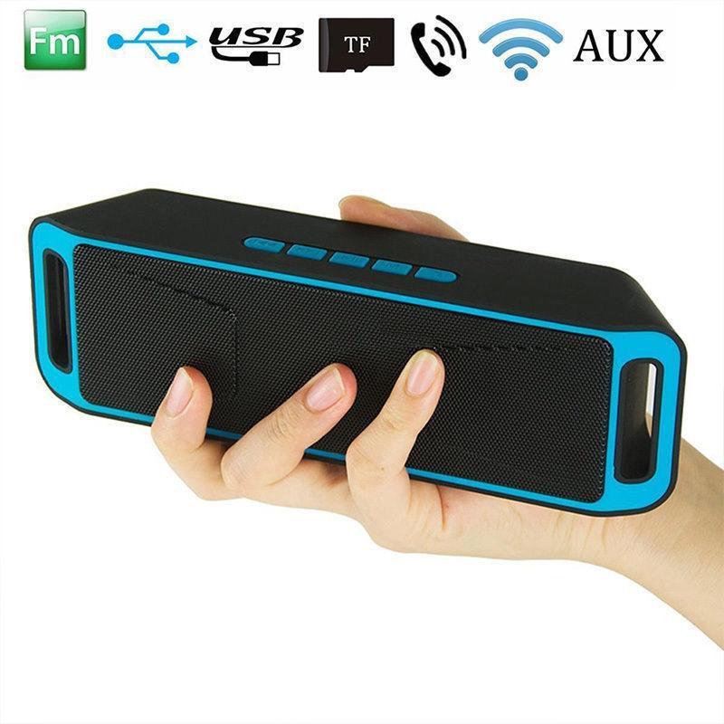 HobbyLane Mini Bluetooth Speaker Portable Wireless Speaker Sound System Flash FM Radio Stereo Music Surround Support TF USB D29