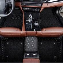 цена на Car floor mats Custom fit Honda CRZ cr-vURV XRV HRV Accord 2003 Civic City Vezel Crosstour  carpet floor liner Car accessories