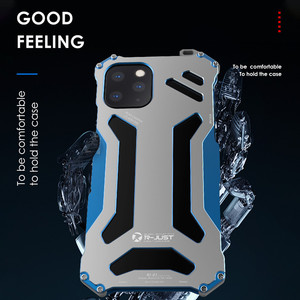Image 4 - יוקרה מתכת שריון מקרה עבור iPhone 11 פרו XS Max XR X 7 8 בתוספת SE 2 להגן על כיסוי עבור iPhone X XR XS מקס קשה עמיד הלם Coque