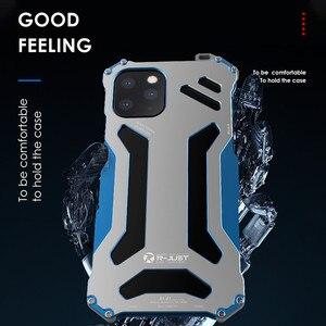 Image 4 - יוקרה מתכת שריון מקרה עבור iPhone 12 מקס 12 פרו 11 פרו מקסימום להגן על כיסוי עבור iPhone 11ProMax קשה עמיד הלם Coque