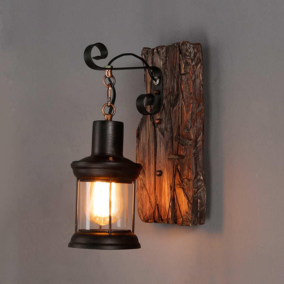 Retro Loft Style Rural Industrial Wall Lamp Wall Sconce Light Lighting  Fixtures Porch Hallway Lighting - Best Deal #12B2D   Cicig