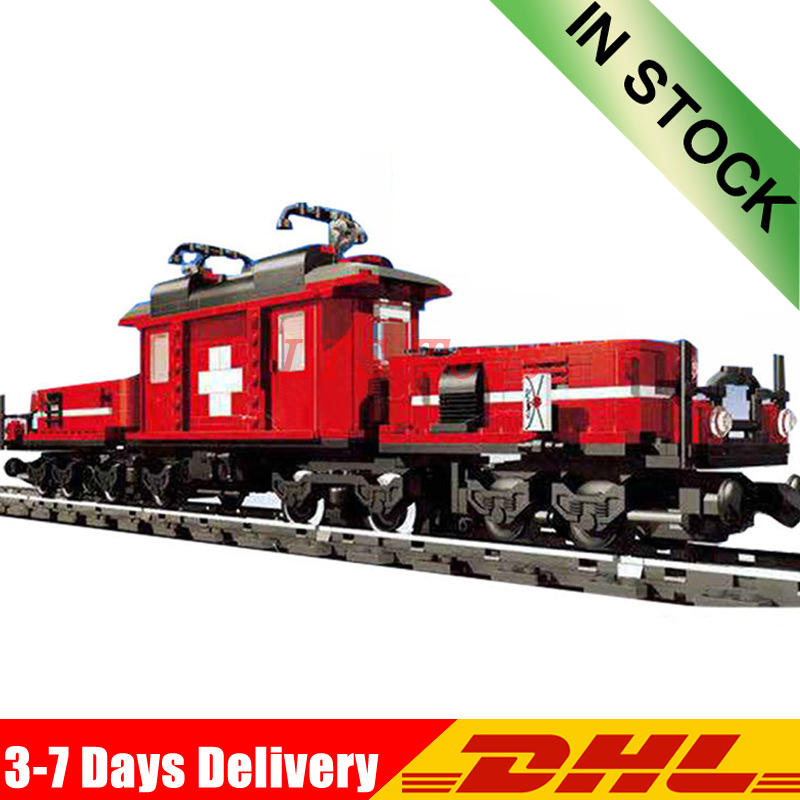 IN STOCK 21011 1130Pcs Technical Series The Medical Changing Train Set Children Building Blocks Bricks Model Toys 10183 Gifts