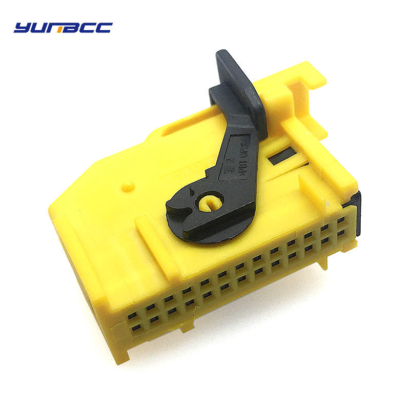 1Set 26Way Pins 0 6mm plug ECU Automotive Connector Wiring Harness Connectors Auto Plug 185879 1 in Connectors from Lights Lighting
