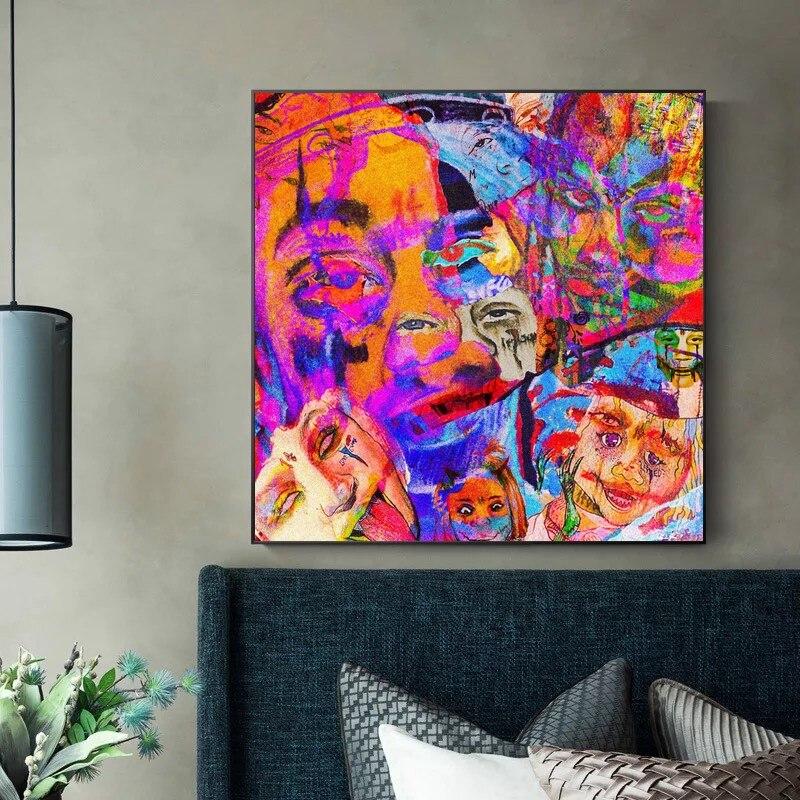 Me Likey Trippie Redd Art Fabric Poster Wall Decor HD Print Multi Sizes -