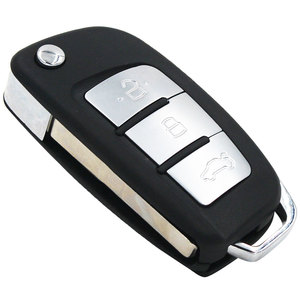 Image 3 - Modified 3 Button New Folding Flip Remote Key Shell Case Smart Car Key Housing Fob for Ford Focus Fiesta C Max Galaxy Kuga S Max