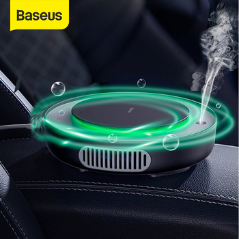 Baseus Car Air Purifier Humidifier Mini Electric Auto Air Ionizer Cleaner For Home Office Car Vaporizer Air Humidifier