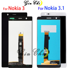 For Nokia 3 LCD Display Touch Screen Digitizer TA 1020 1038 For Nokia 3.1 LCD Screen TA 1063 1070 For Nokia3 N3 LCD Screen