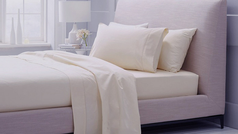 Ev ve Bahçe'ten Yatak Takımları'de 800 TC % 100% Mısır Pamuk Kral kraliçe Beyaz simli Bej renkler düz levha nevresim yastık kılıfı N adet set özelleştirmek'da  Grup 1