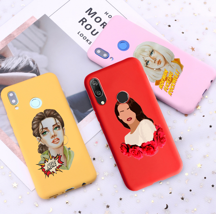 Cute Lana Del Rey Candy Color Case For Huawei P10 P20 P30 Mate 10 20 Honor 8 9 10 Doin Time Smart Soft Case Fitted Cases Aliexpress