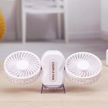 Couple Small Fan Folding Fan Rotatable Portable Outdoor Usb Fan Mini Fan Car Humidifier Ultra Quiet Air Atomizer lacywear u 1 fan