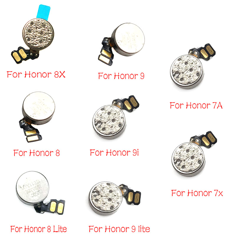 2pcs/lots For Huawei Honor 8 9 10 Lite 7X 5X 9i 7A V20 20i Play 6X GR5 2017 Vibrator Module Ribbon Flex Cable Motor Vibration