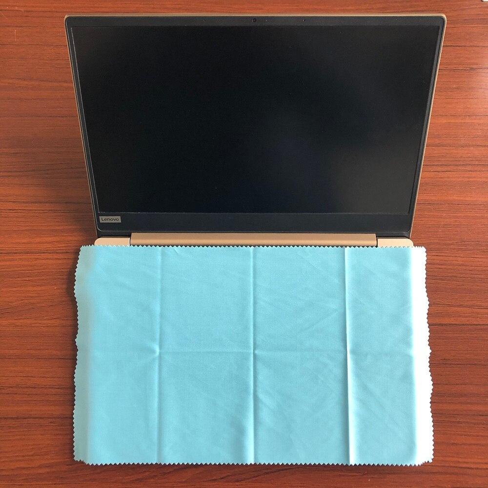 Высококачественная Пыленепроницаемая салфетка из микрофибры для ноутбука, 20*35 см, 2 шт.
