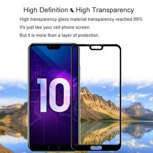 Image 5 - 2PCS 100% מקורי מלא כיסוי מזג זכוכית עבור Huawei Honor 10 מסך מגן על מגן זכוכית עבור COL AL10 l09 L29 סרט