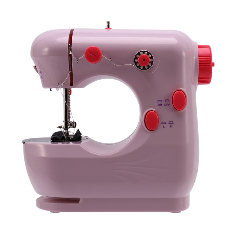 Fashion-Mini Beginner Sewing Machine, 2 Speed Embroidery Stitching Heavy Duty Quilting Machine Easy to Use,Foot Pedal Operation image