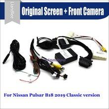 цены на For Nissan Pulsar 2019 Car Front View camera System CANBUS Connect Original Factory Screen Monitor AUTO CAM Decoder  в интернет-магазинах
