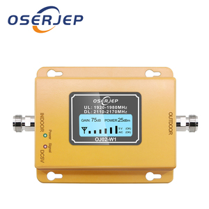 Image 1 - 70db 3g 2100 Repeater Cell Phone Signal  Repeater Mobile 2100MHz Signal Booster Amplifier LCD LTE WCDMA UMTS Dropshipping