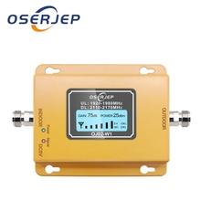 70db 3g 2100 tekrarlayıcı cep telefon sinyal tekrarlayıcı mobil 2100MHz sinyal güçlendirici amplifikatör LCD LTE WCDMA UMTS Dropshipping