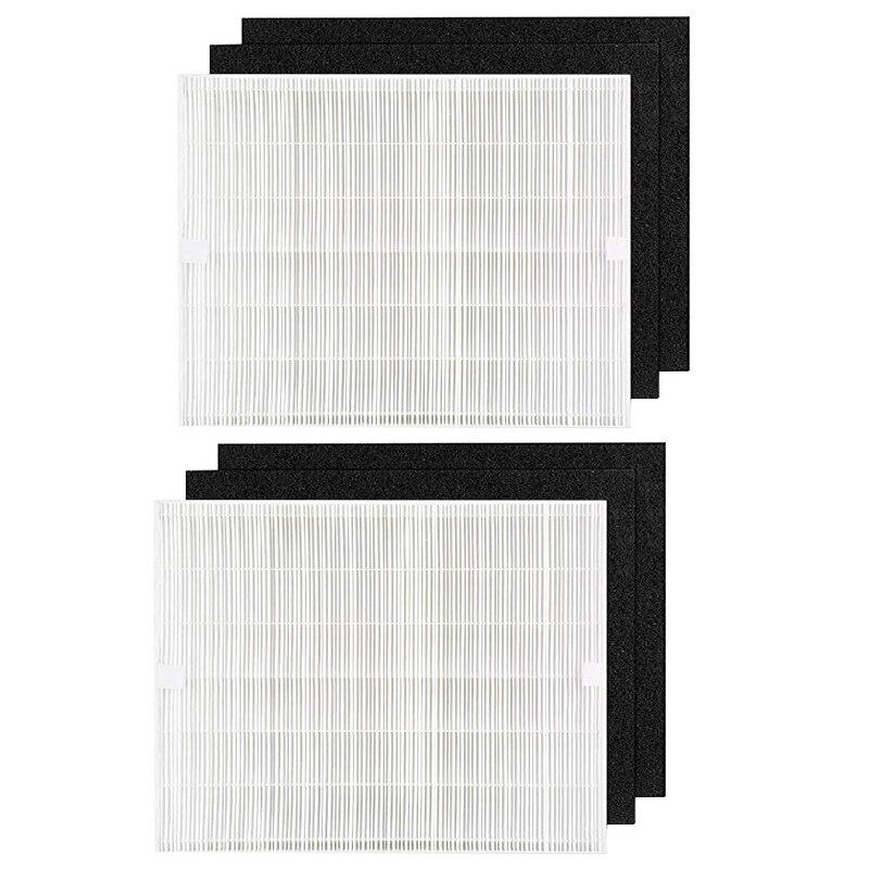 SANQ 2Pcs Air Purifier Filter Activated Carbon Cotton Replacement Kit Fit for Coway AP1512Hh Air Cleaner|Air Purifier Parts| |  -