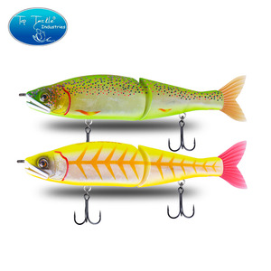"""Image 3 - 148mm 5.8 178mm 7"""" 220mm 8.7 yavaş batan tuzlu su veya yüzen tatlısu büyük bas eklemli yemler Swimbait balıkçılık Lures"""