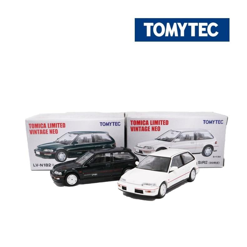 Tomy Tomica Tomytec TLV 1/64 Limited Vintage NEO LV-N182 Honda Civic SiRII Die-cast Model Car