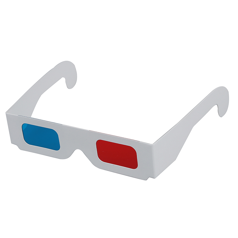 100 pairs of Red / Cyan (Blue) Anaglyph 3D glasses 3Dimensional