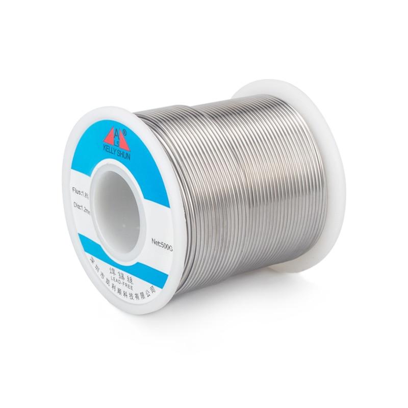 10 m/partij Rosin soldeer lage temperatuur tin draad soldeerbout lassen draad diameter 0.8mm speciaal voor lassen