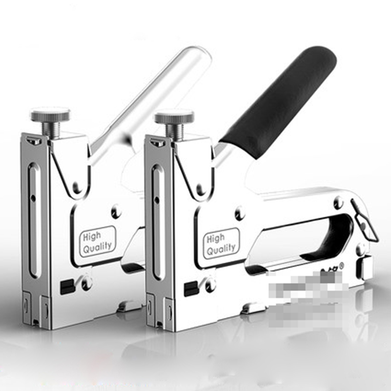 3-in-1 Nail Gun Riveter Stapler Manual Nail Gun Kit ForFurniture Framing Wood Carpentry  Stapler Door Nailers Rivet Tool