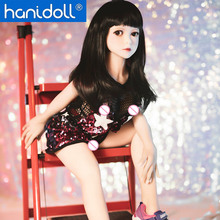 Hanidoll Silicone Sex Doll 100cm mini Japan Love Metal Skeleton TPE Realistic Vagina Oral Anal Breast Masturbator doll