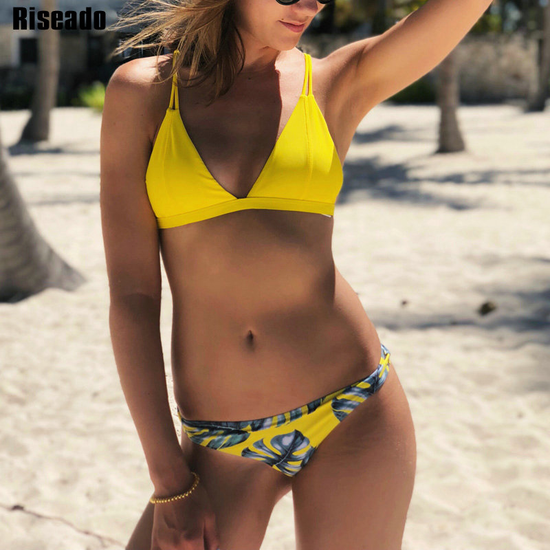 Riseado New Brazilian Bikini Set Sexy Thong Swimwear Women Strap Swimsuit biquini Bathing Suits Beachwear Micro Bikinis 2021|beachwear women|beachwear swimwearbeachwear bikinis - AliExpress