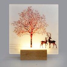 Artpad מודרני רומנטי רגיל צבוע פמוטים מקורה קיר Led אקריליק קיר רכוב קיר מנורת סלון מטבח המיטה חם אור
